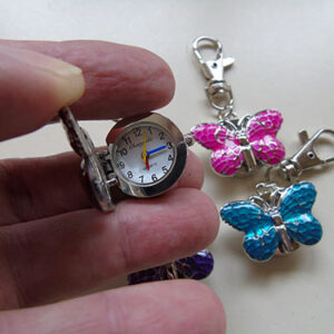 Butterfly Fob Key Ring