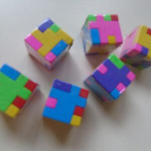 Eraser Puzzle Cube