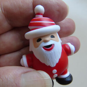 Festive Santa Torch