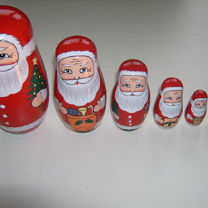 Father Christmas Russian Doll
