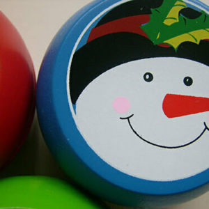 Wooden Christmas Yo-Yo
