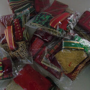 Bags Of Christmas Ribbon