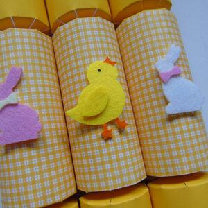 Gingham Easter Cracker
