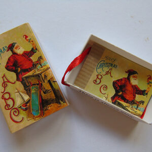 Christmas ABC – Tree Decoration Victorian Poem