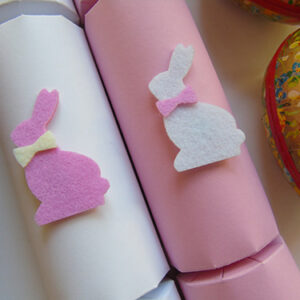 Pretty in Pink Easter Crackers