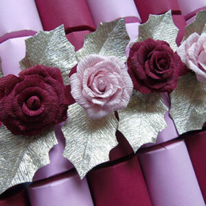 The Rose Party Crackers