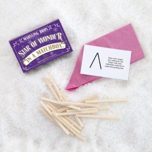 Christmas Matchbox Puzzles – (set of six)