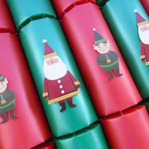 Santa & Elf Christmas Crackers